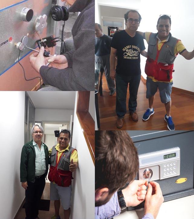 cerrajero de cajas fuerte en Lima